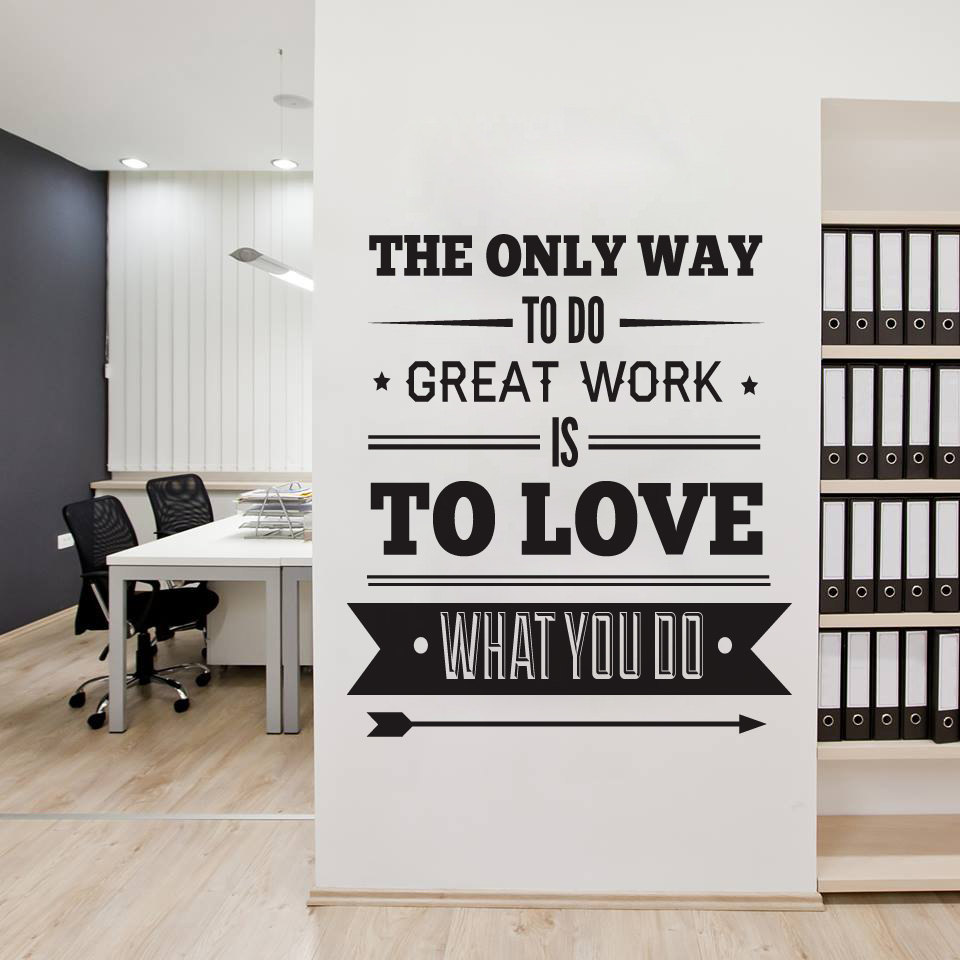 office wall decor motivational photo - 2