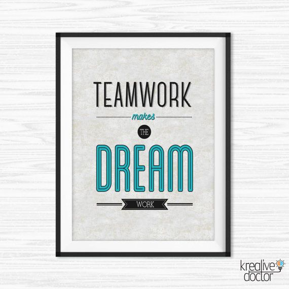 office wall decor motivational photo - 6