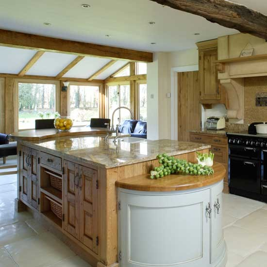 open country kitchen designs photo - 2