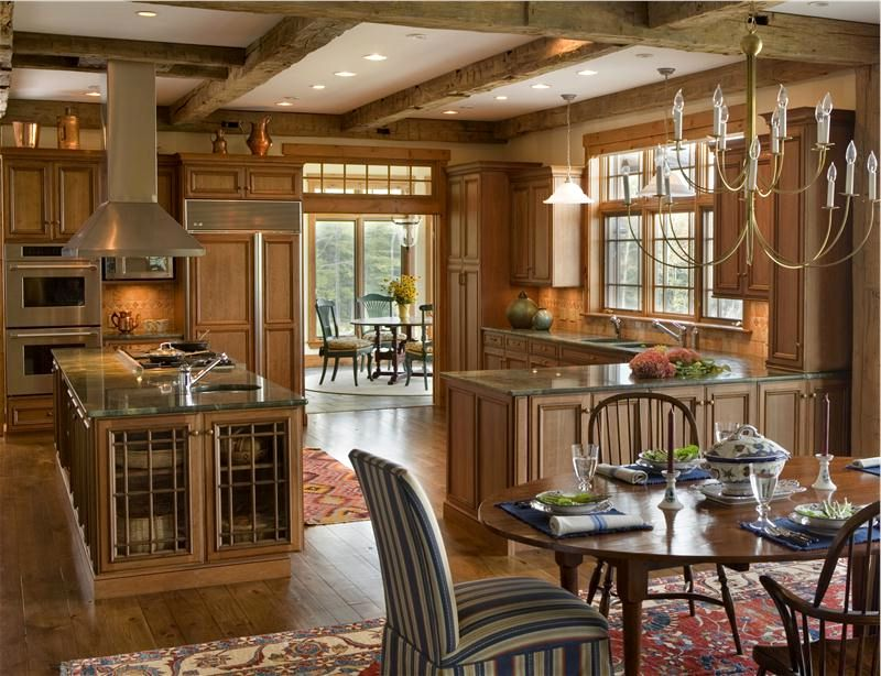 open country kitchen designs photo - 3
