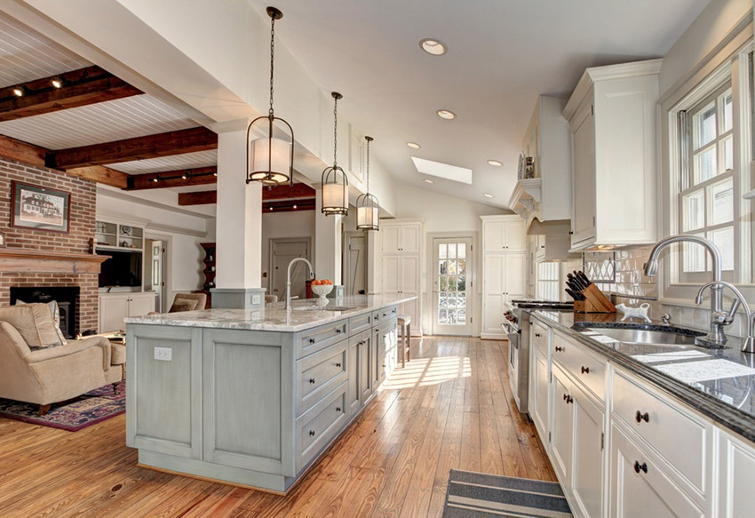 open country kitchen designs photo - 5
