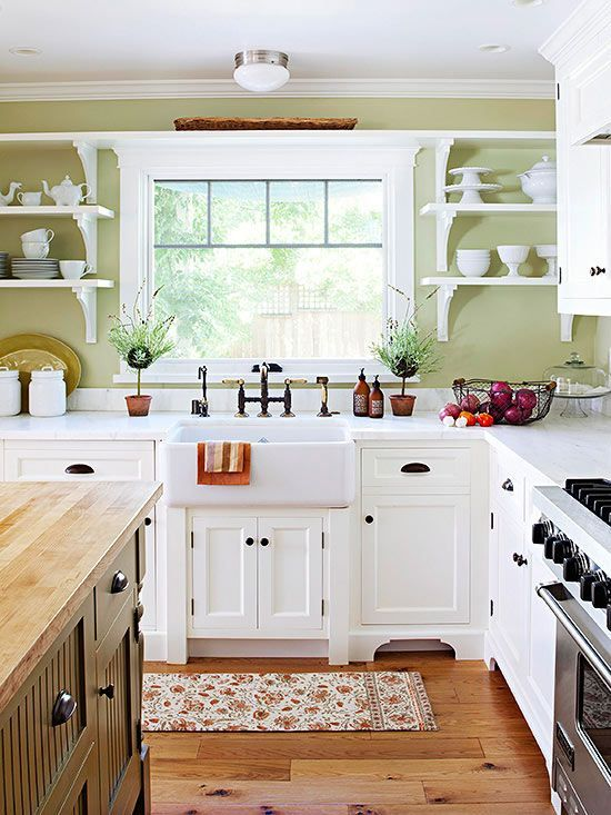 open country kitchen designs photo - 8