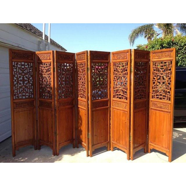 oriental room dividers antique photo - 4