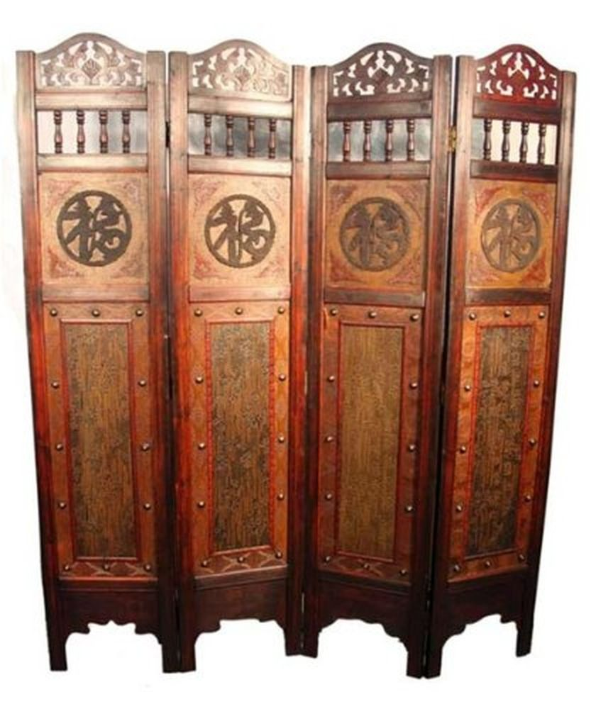 oriental room dividers antique photo - 9
