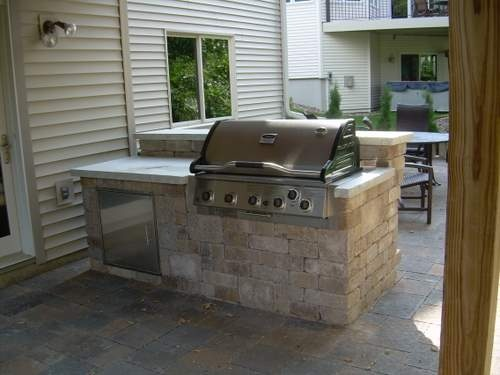 outdoor bar and grill designs photo - 5