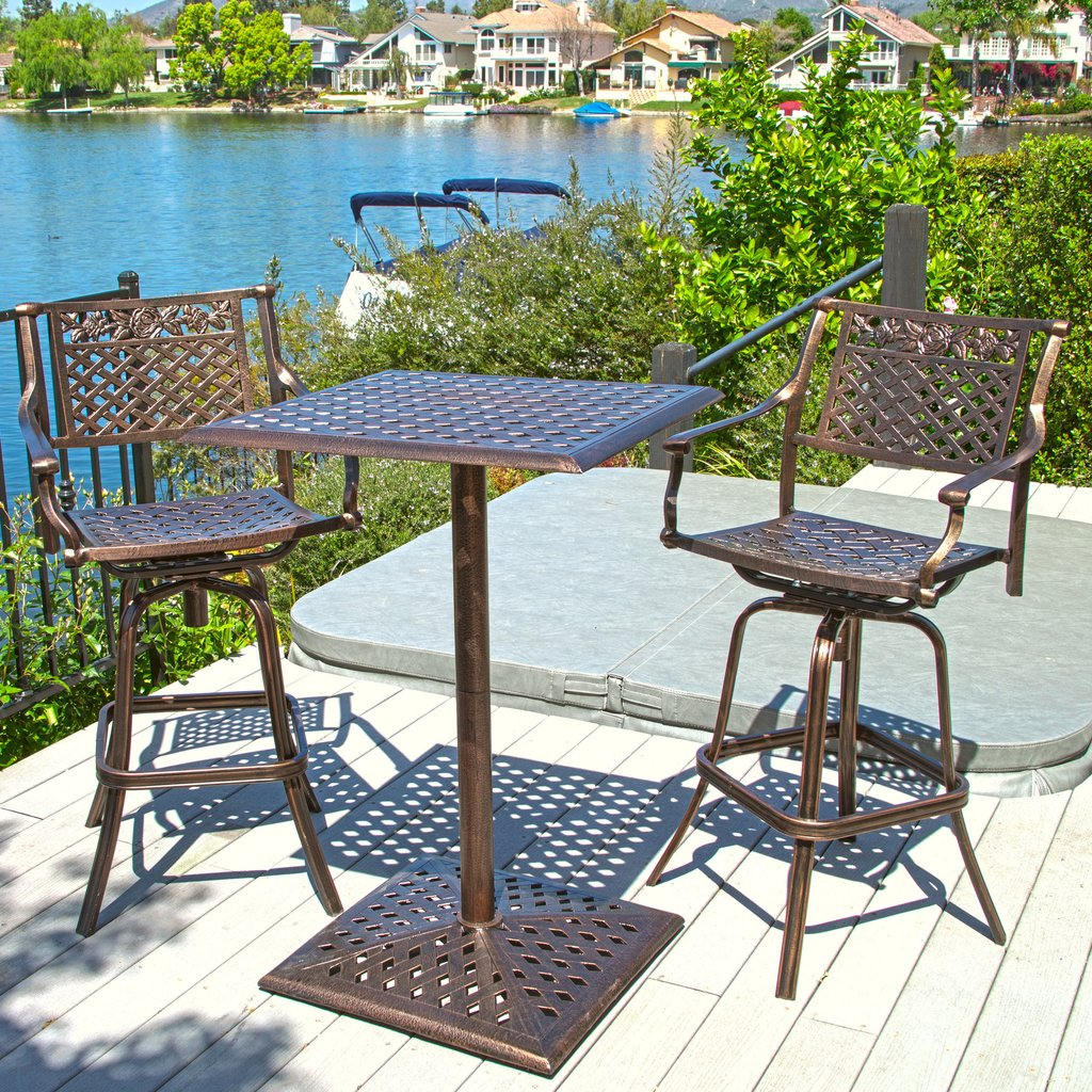 outdoor bar bistro sets photo - 2