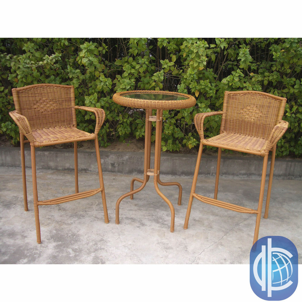 outdoor bar bistro sets photo - 3