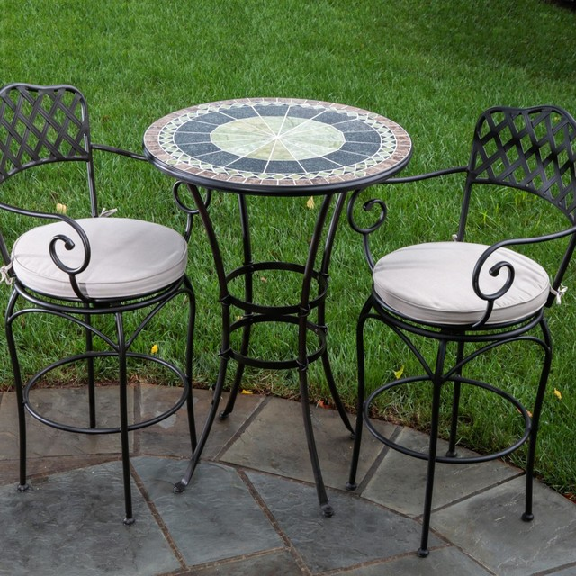 outdoor bar bistro sets photo - 5