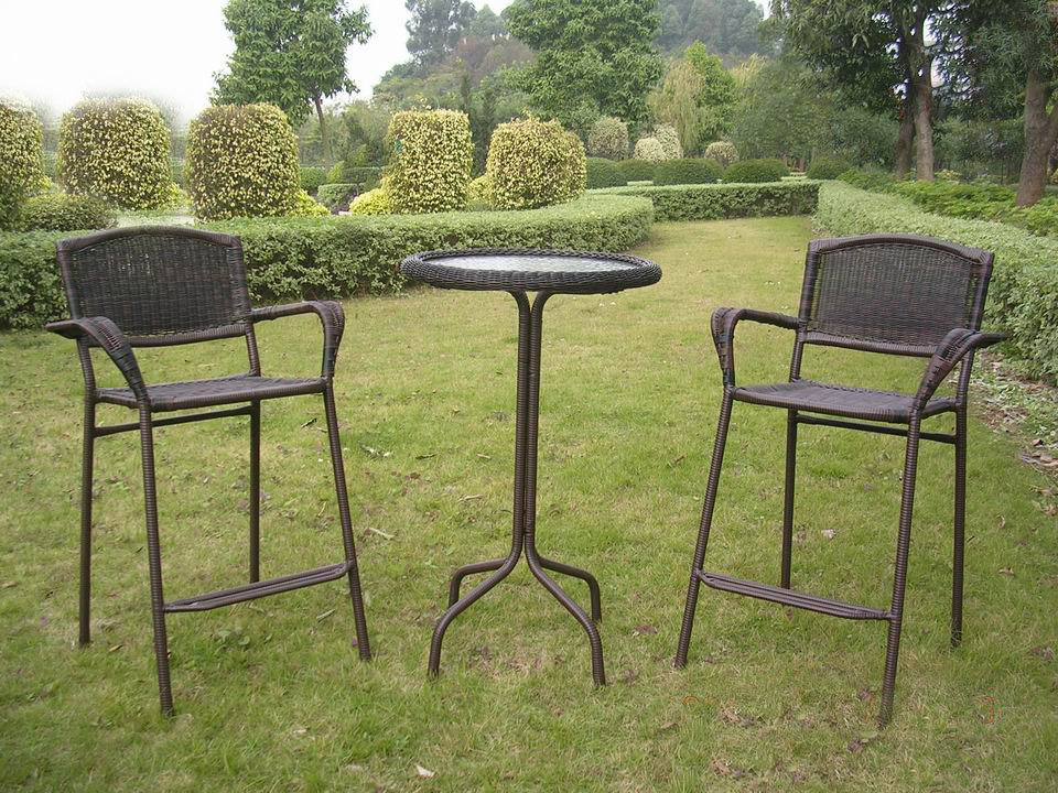outdoor bar bistro sets photo - 8
