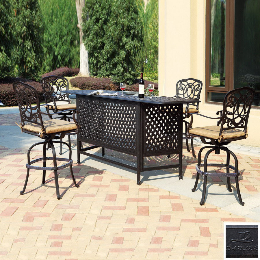 outdoor bar sets clearance photo - 6