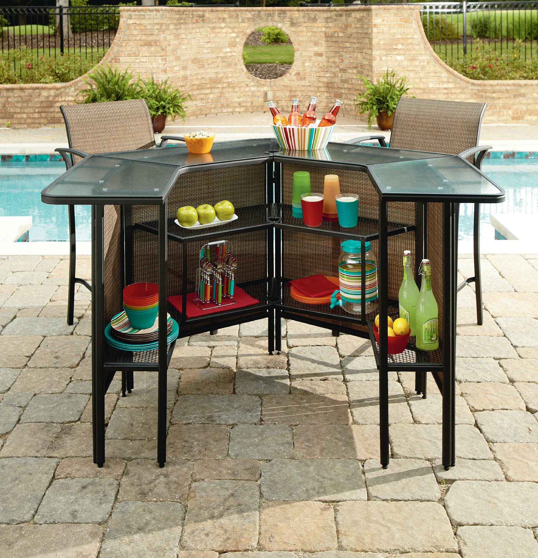 outdoor bar sets clearance photo - 8