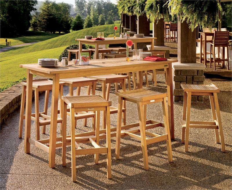 outdoor bar sets clearance photo - 9