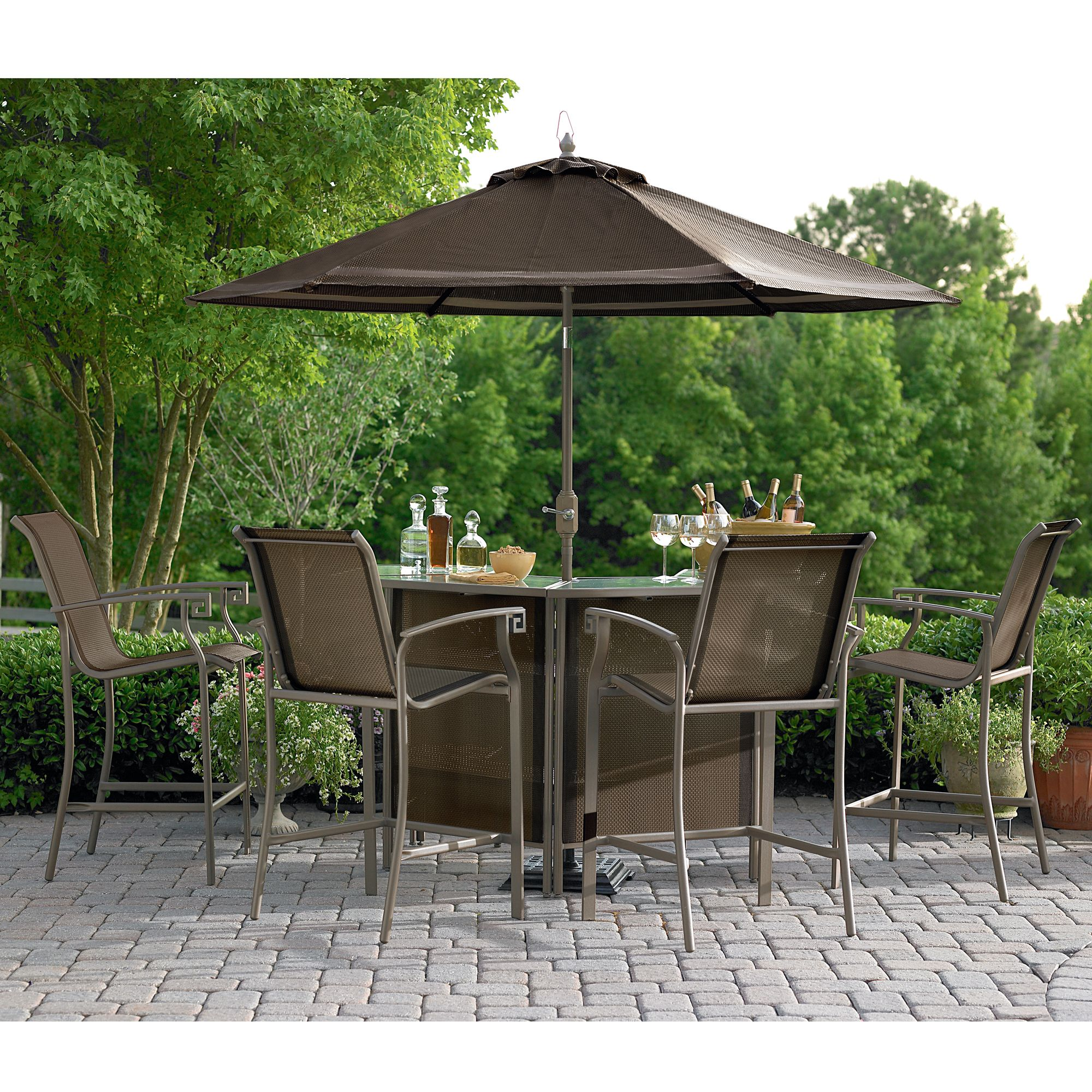 outdoor bar sets sears photo - 1