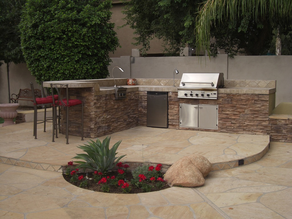 outdoor barbeque designs photo - 1