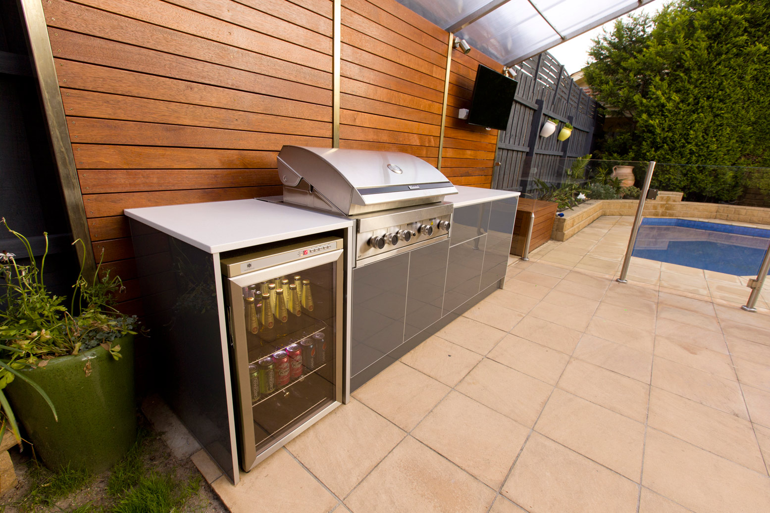 outdoor barbeque designs photo - 10