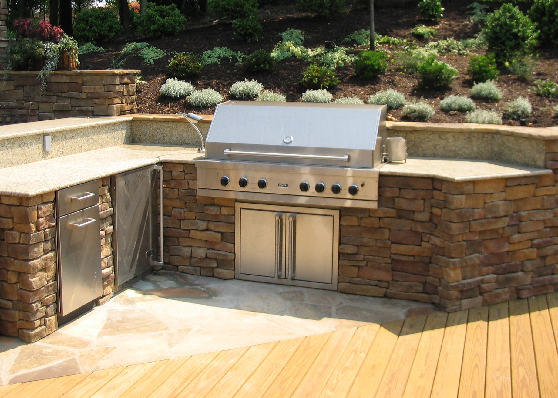 outdoor barbeque designs photo - 3