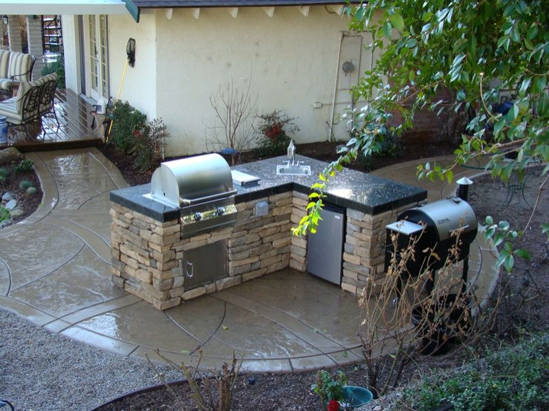 outdoor barbeque designs photo - 4