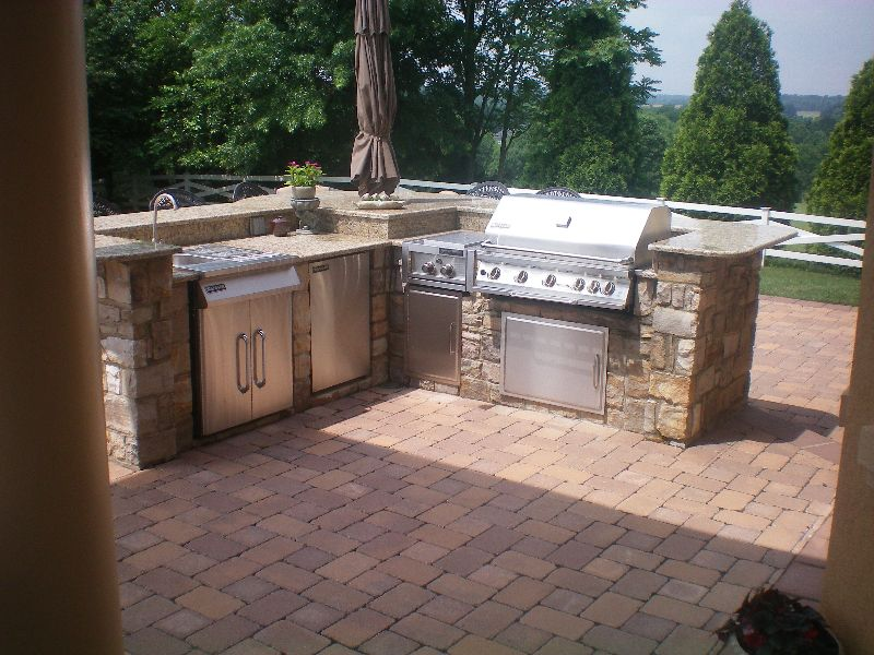 outdoor barbeque designs photo - 5