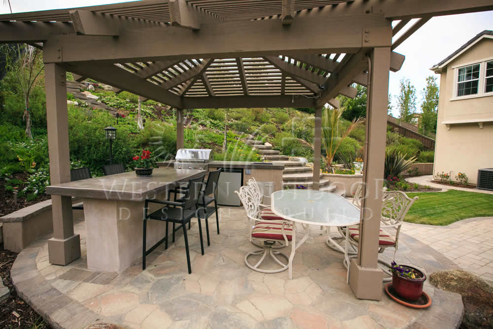 outdoor barbeque designs photo - 6