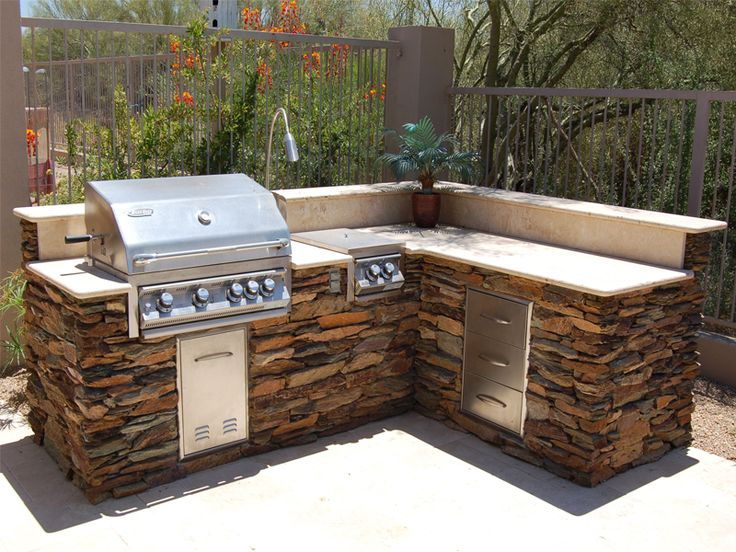 outdoor barbeque designs photo - 7