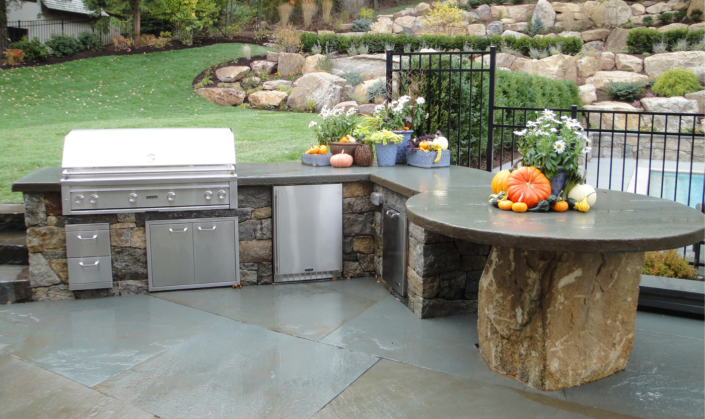 outdoor barbeque designs photo - 8