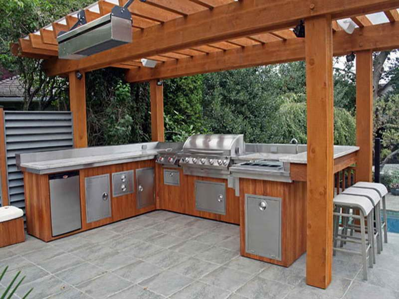 outdoor barbeque designs photo - 9