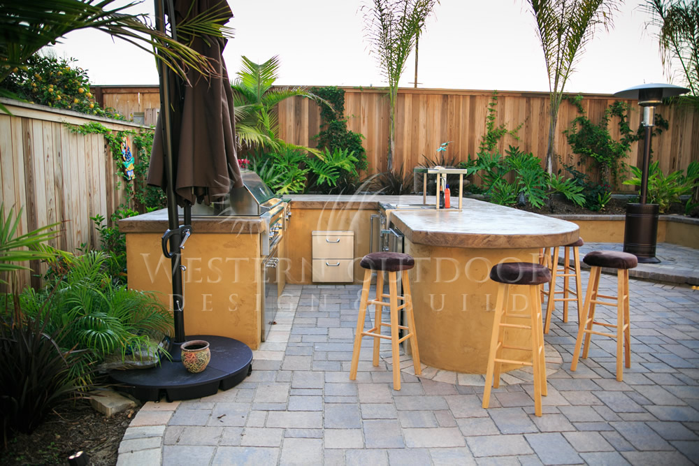 outdoor bbq bar designs photo - 5