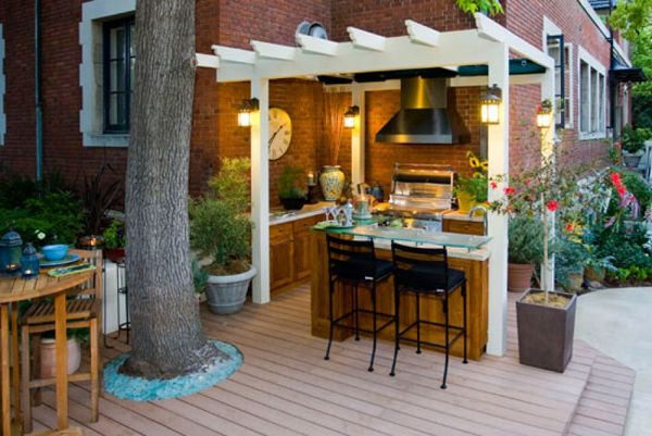outdoor country kitchen designs photo - 10