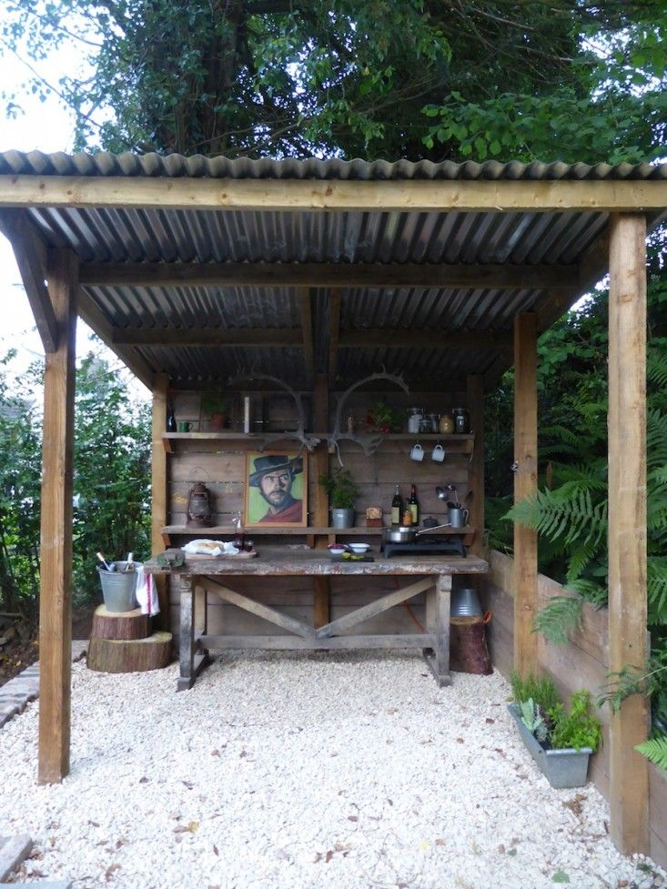 outdoor country kitchen designs photo - 2