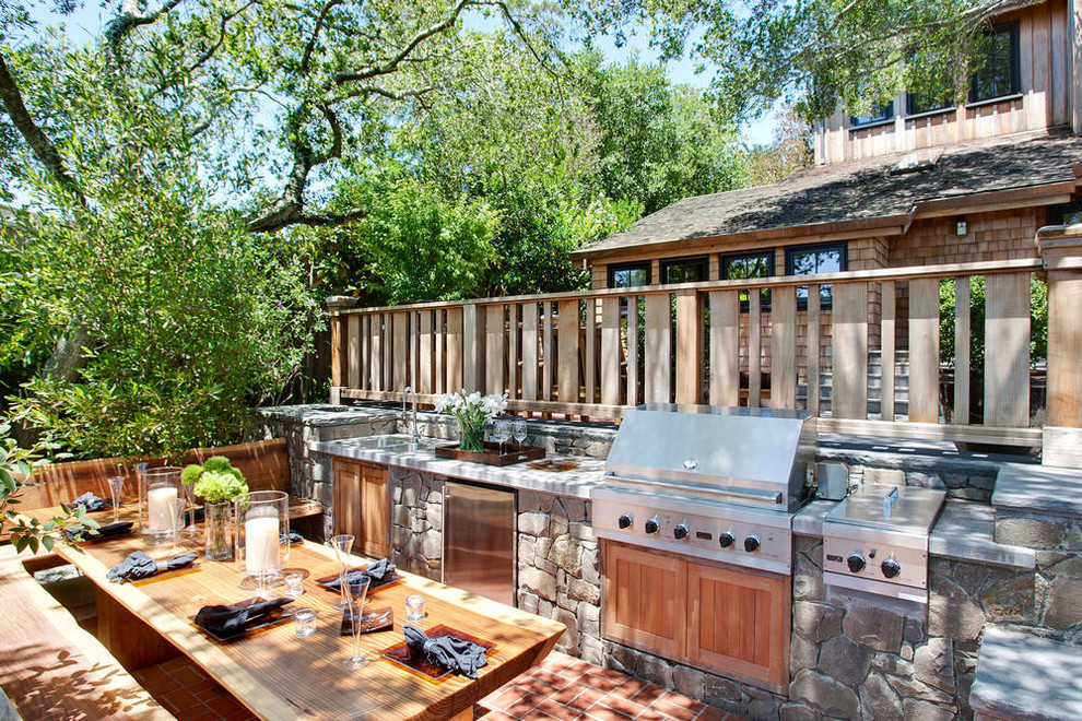 outdoor country kitchen designs photo - 4