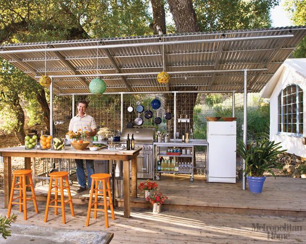 outdoor country kitchen designs photo - 5