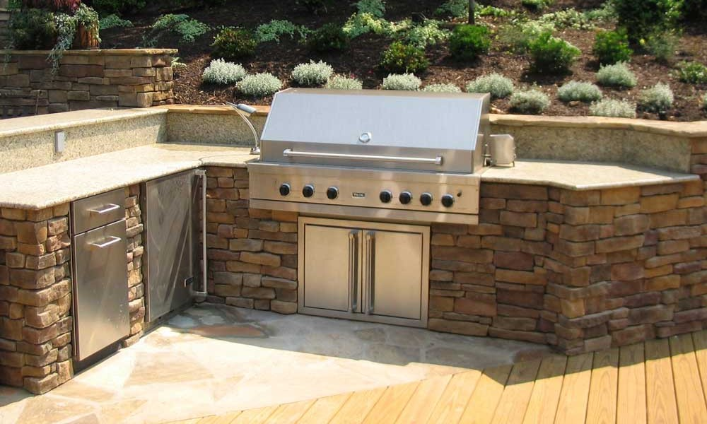 outdoor country kitchen designs photo - 6