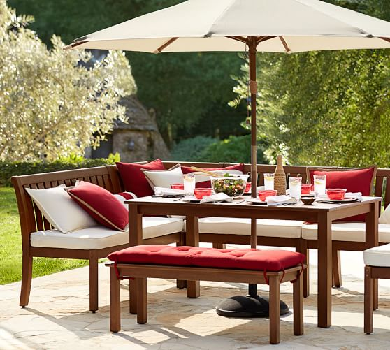 outdoor dining sets pottery barn photo - 10