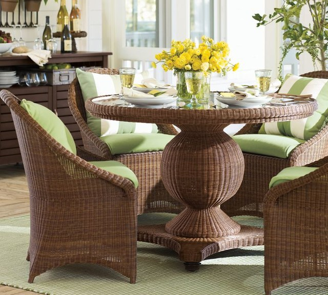 outdoor dining sets pottery barn photo - 8