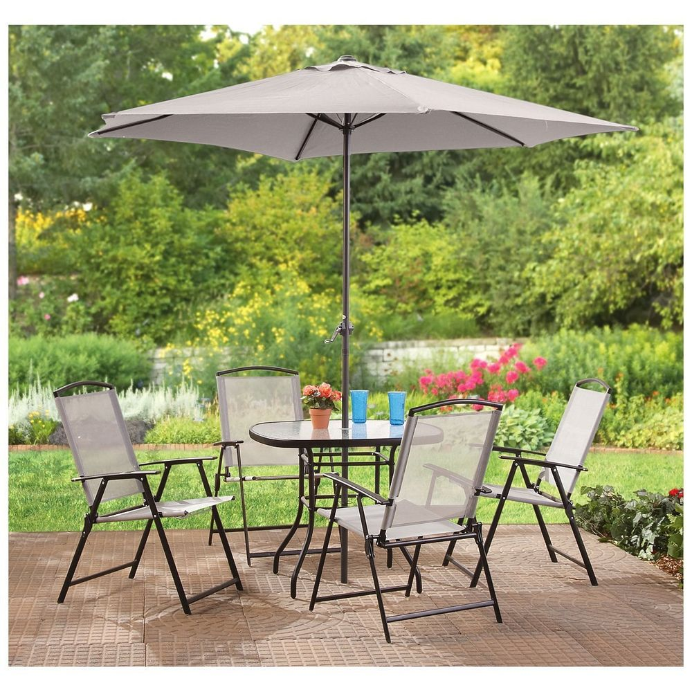 outdoor dining sets with umbrella photo - 10