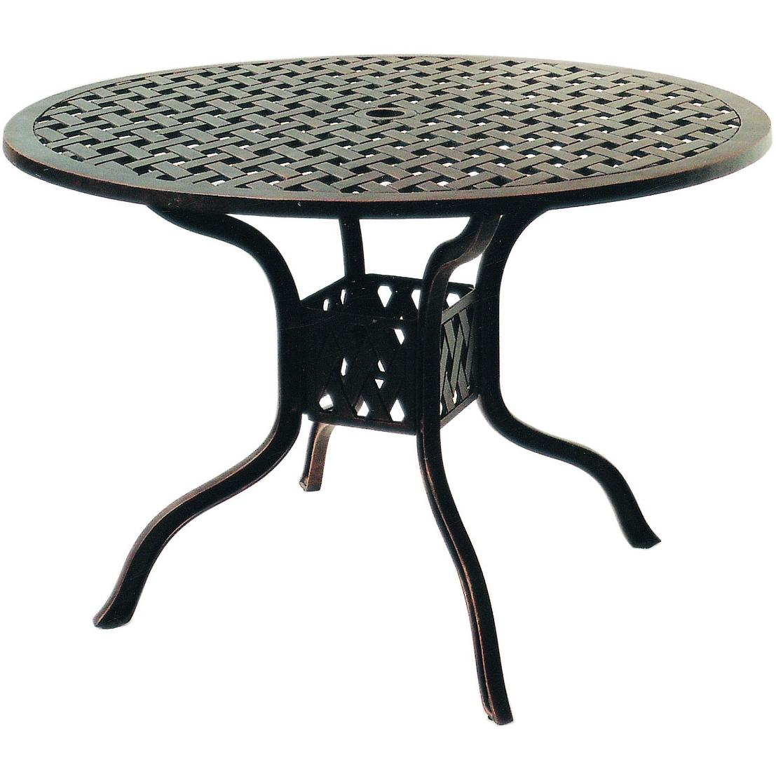 outdoor dining table with grill photo - 3