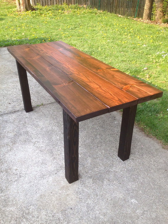 outdoor dining table with grill photo - 8