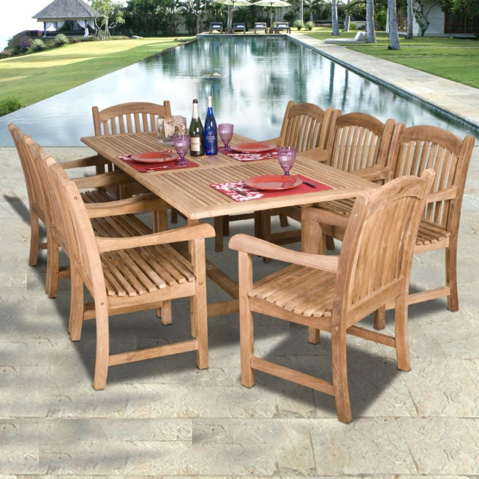 outdoor dining tables guide photo - 10