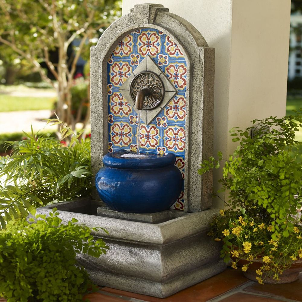 outdoor garden drinking fountain photo - 5