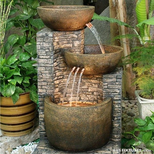 outdoor garden drinking fountain photo - 6