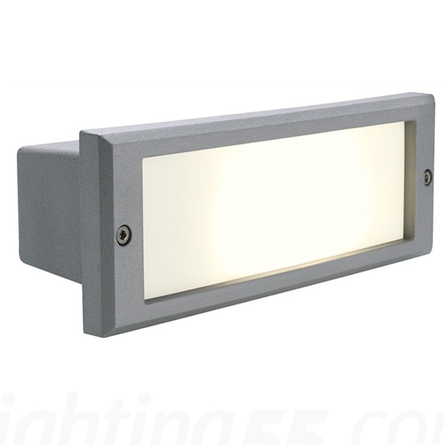 outdoor inset wall lighting photo - 1