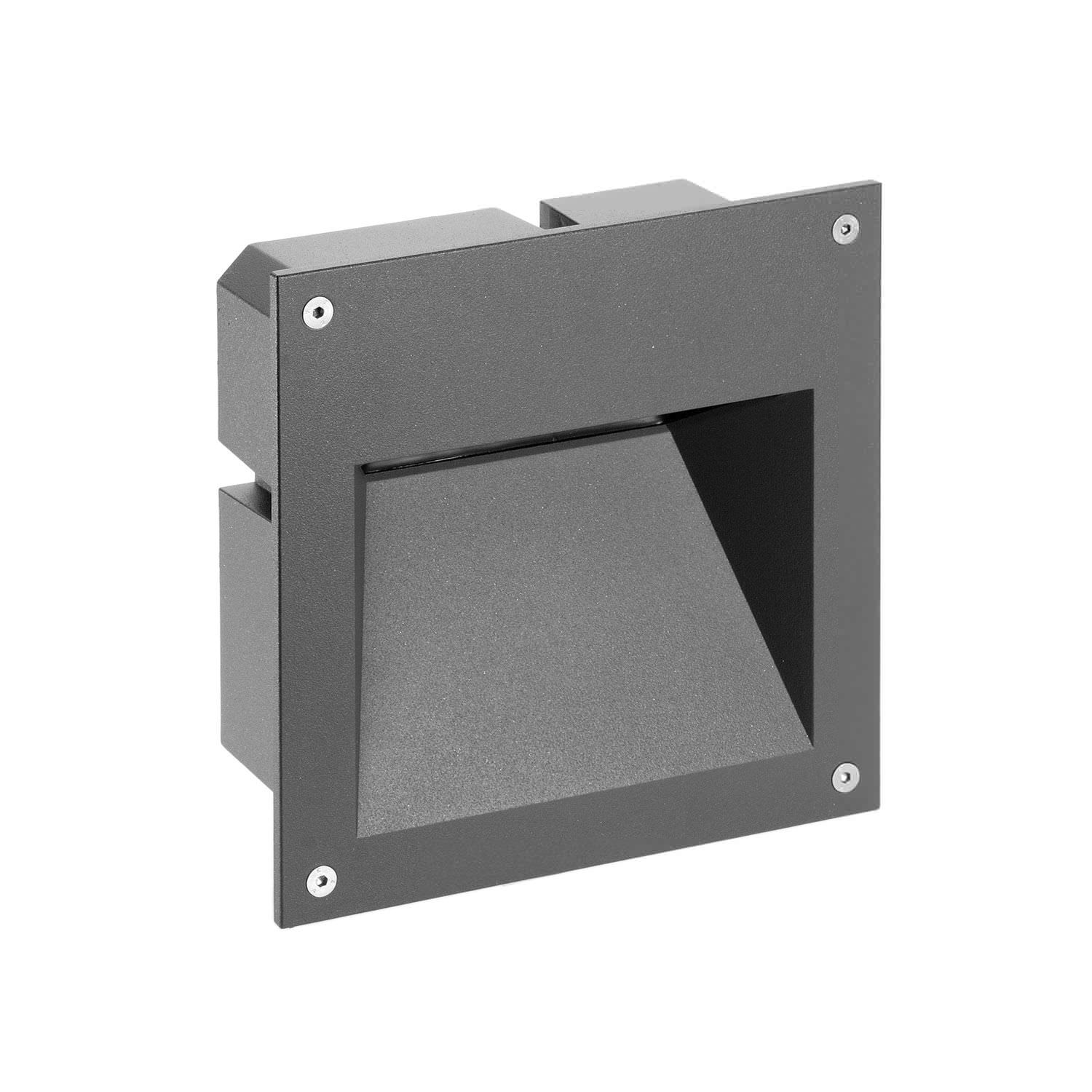 outdoor inset wall lighting photo - 4