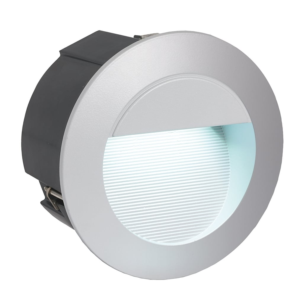 outdoor inset wall lighting photo - 5
