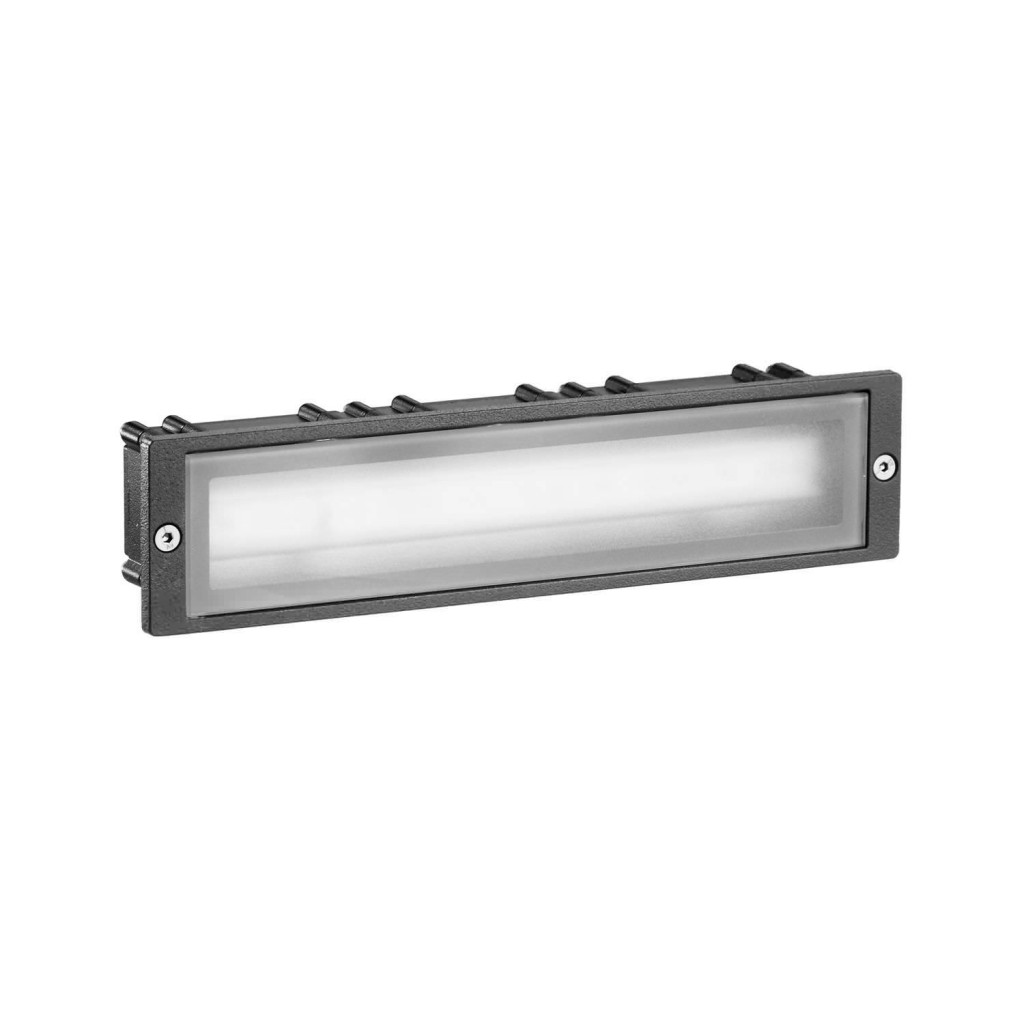 outdoor inset wall lighting photo - 9