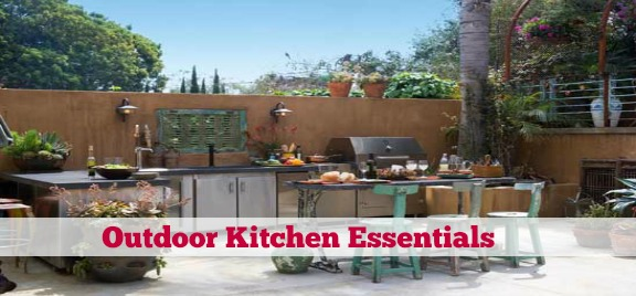 outdoor kitchen essentials photo - 1