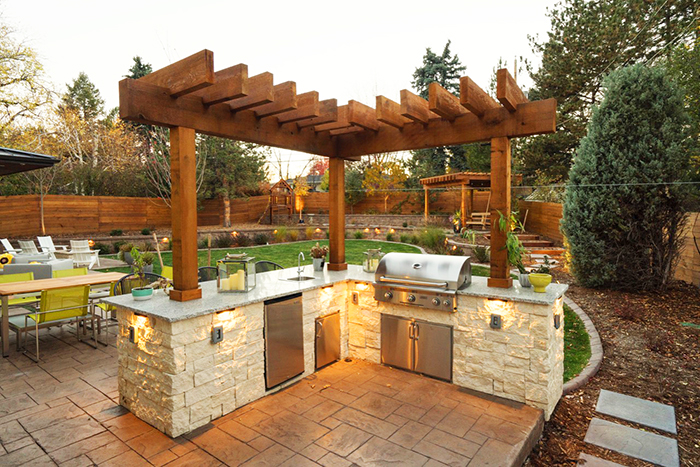 outdoor kitchen essentials photo - 9