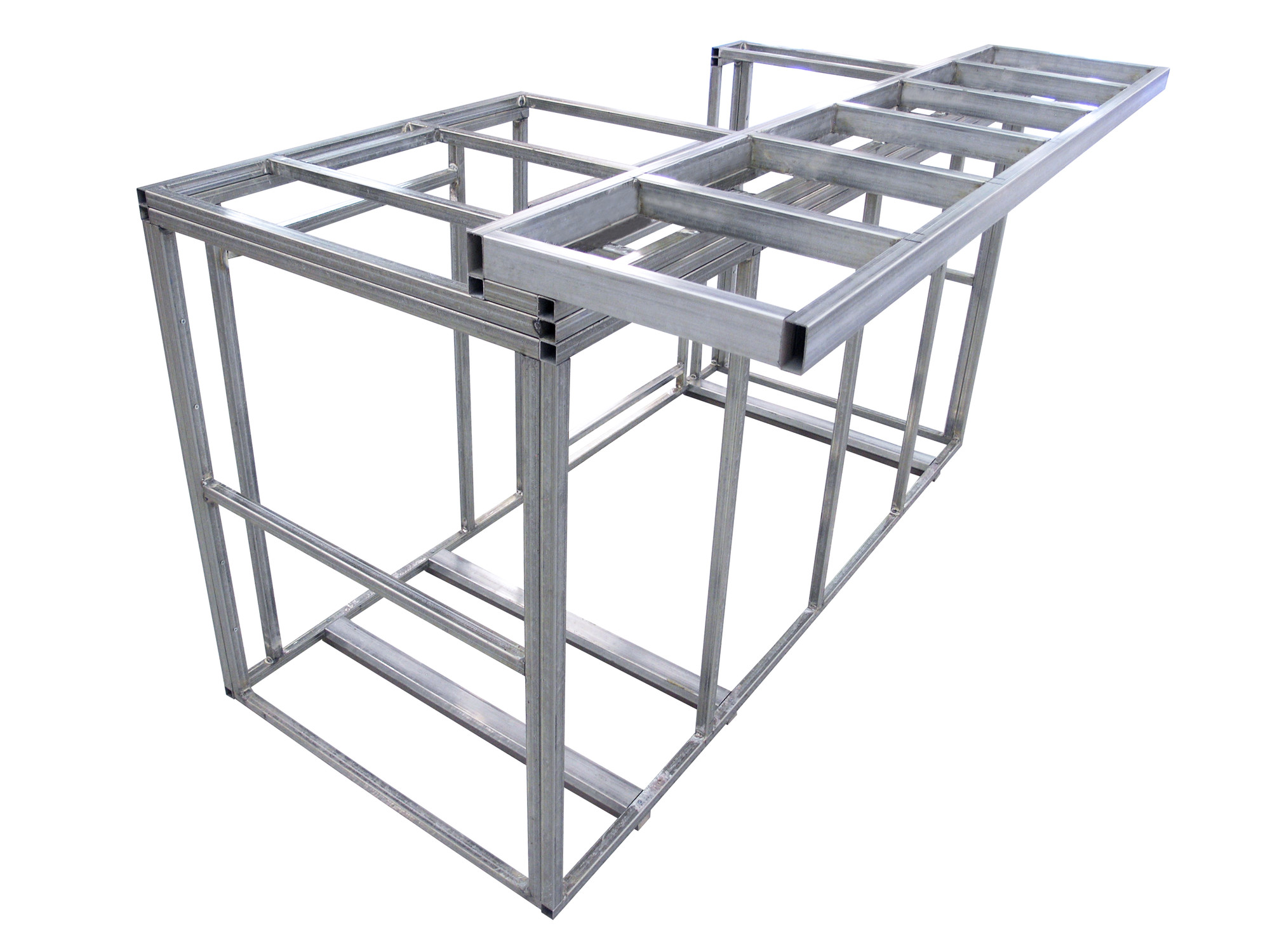 outdoor kitchen frame kit photo - 1