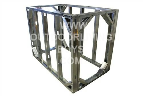 outdoor kitchen frame kit photo - 6