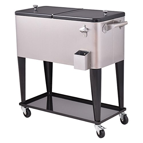 outdoor kitchen ice bin photo - 10
