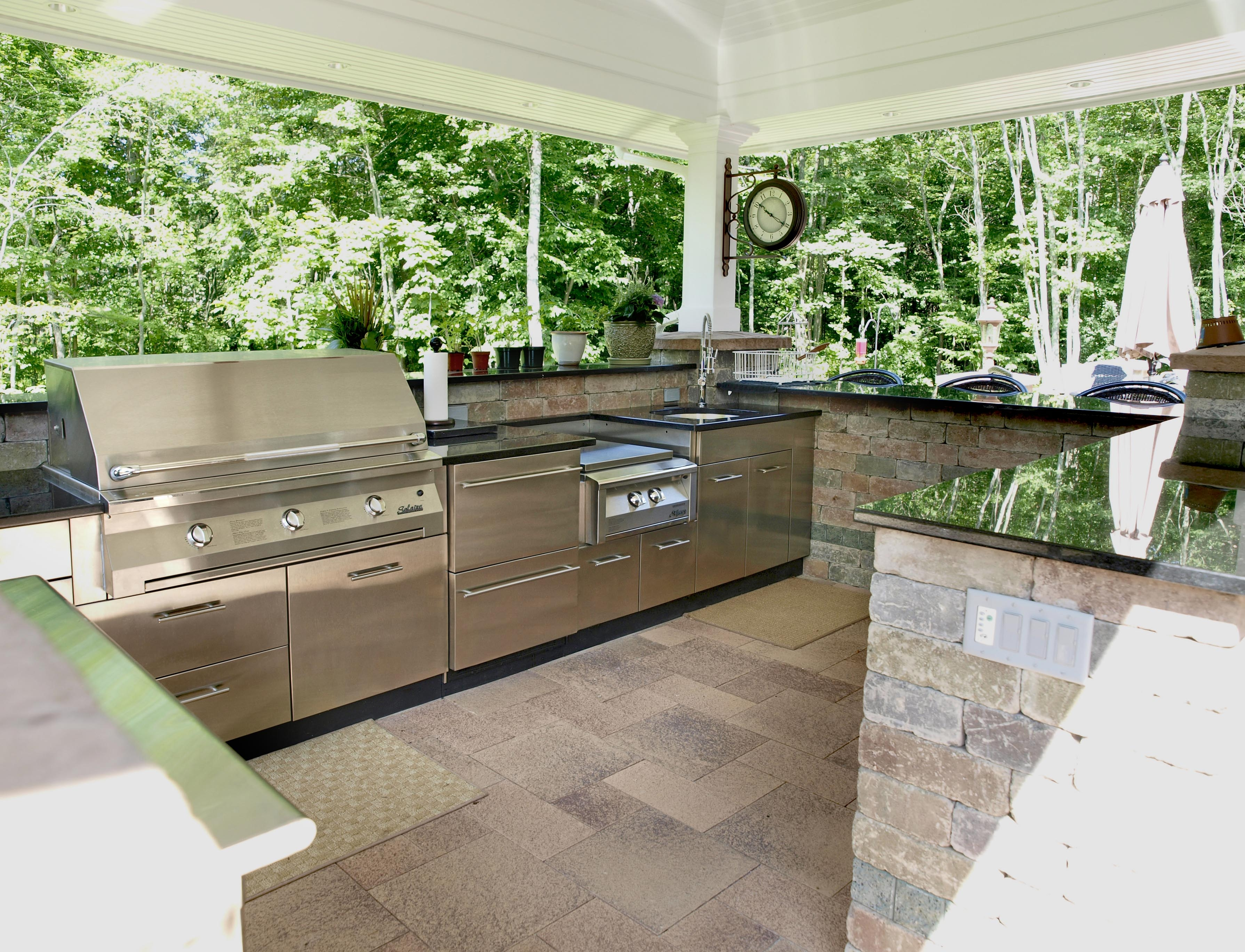 outdoor kitchen images photo - 10